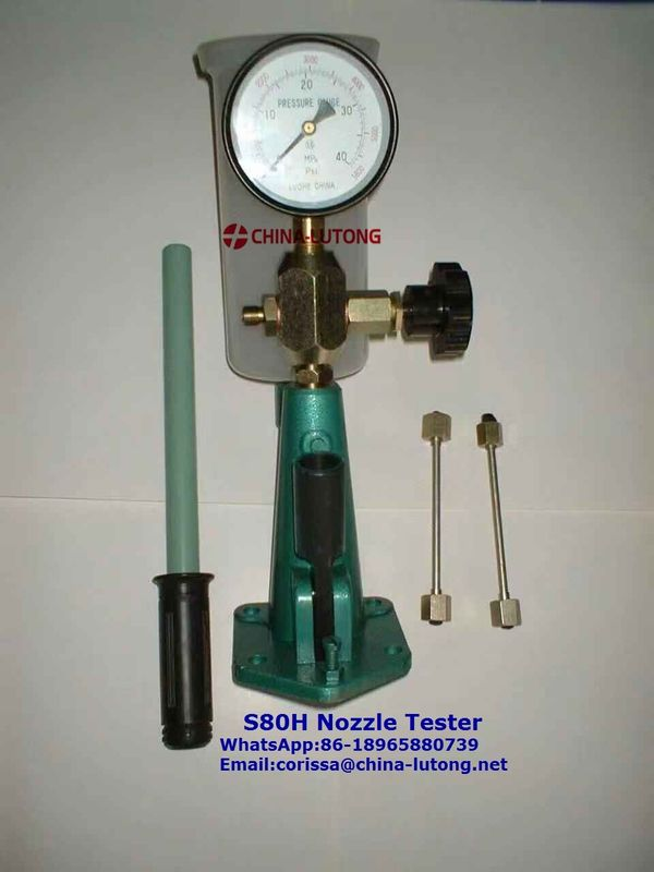bosch fuel injector nozzle tester S80H common rail pump injector nozzle tester